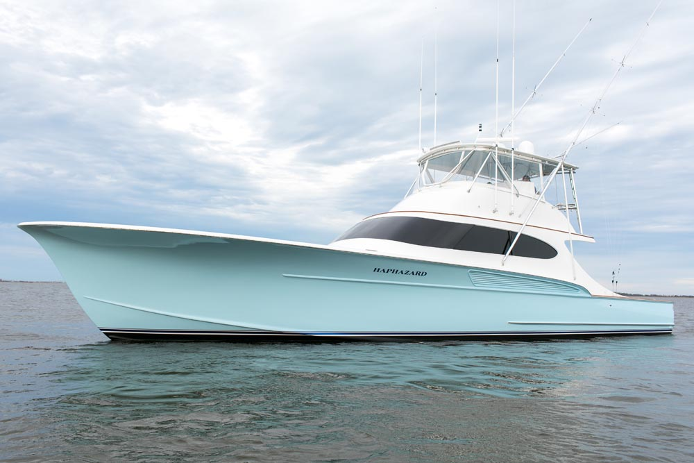 Haphazard Outer Banks Fishing Charter floating in Oregon Inlet